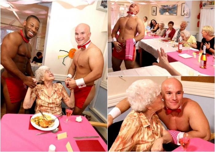 Бабушки из дома престарелых пригласили к себе стриптизеров