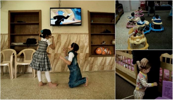 Дети боевиков в иракских детских домах