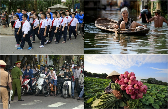 Интересные кадры из Вьетнама