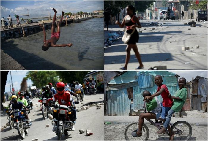 Интересные фото из Гаити