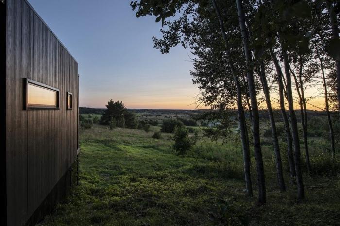 Домик для отдыха в литовском лесу