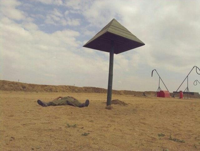 Армейские будни не обходятся без юмора