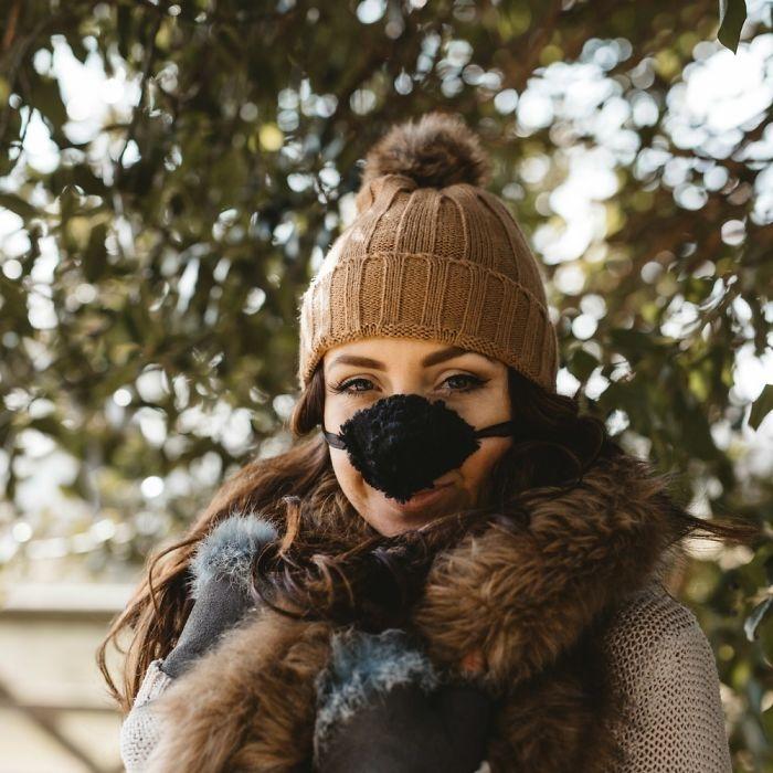 Последний писк моды: шапка для носа