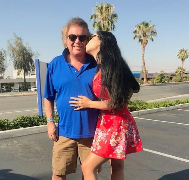 Настоящая любовь: певец Дон Маклин и его 24-летняя возлюбленная Пэрис Дилан
