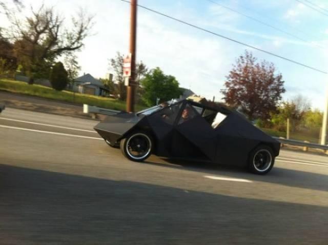 Очень странные транспортные средства