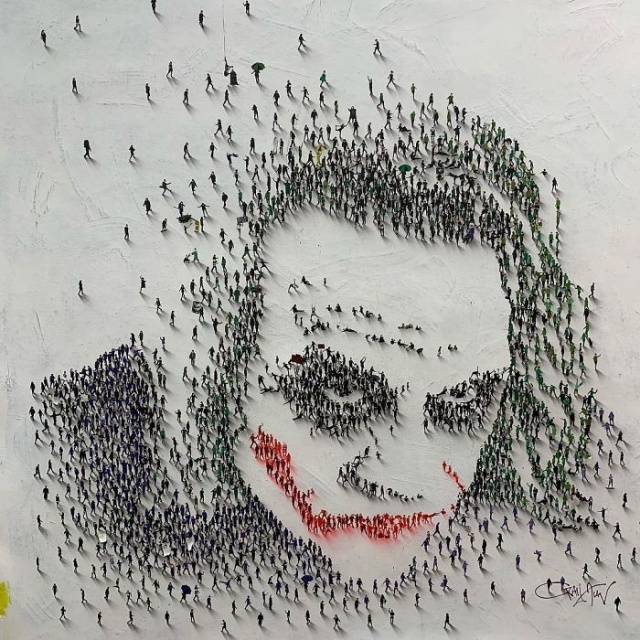 Необычное искусство Крейга Алана