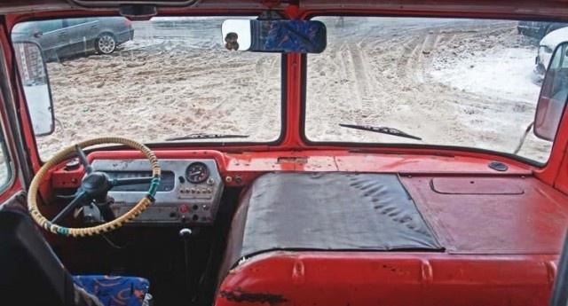 Восстановление полноприводного ПАЗ 3201-С
