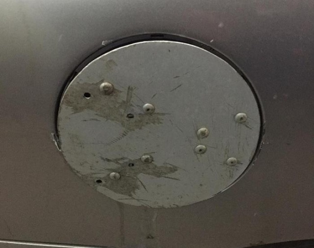 Самодельная защита для бензобака автомобиля