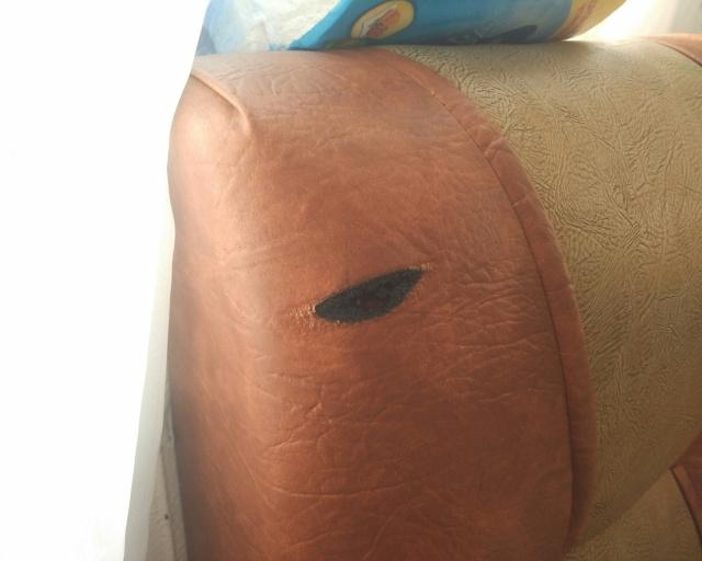 Возгорание кухонного дивана