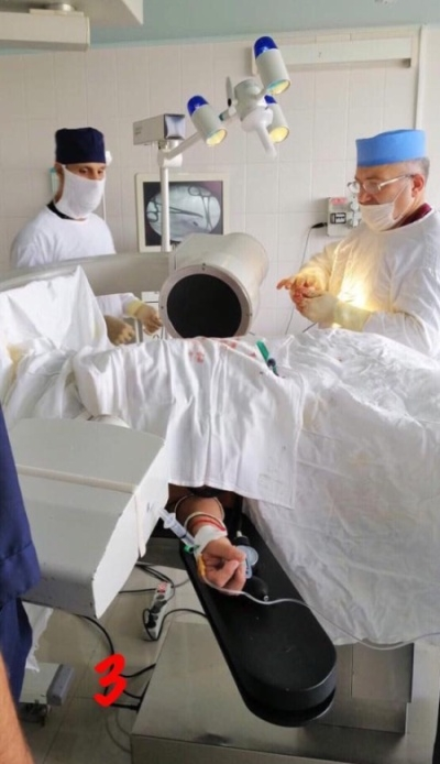 Врачи извлекли пулю из груди россиянина, с которой он прожил 30 лет