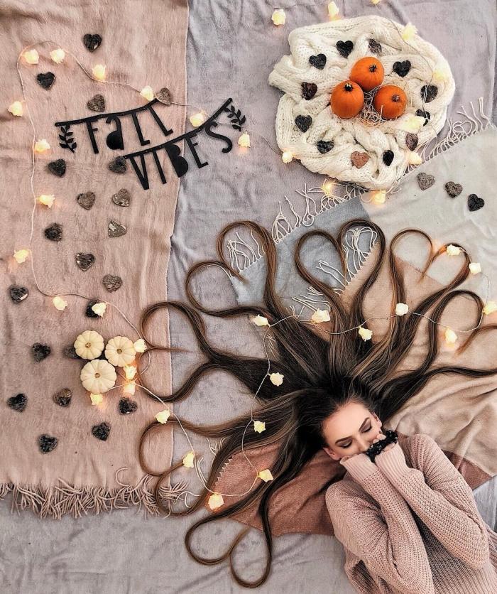 Художница из Нидерландов делает невероятные фотографии своих волос