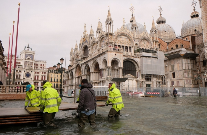 Венеция под водой