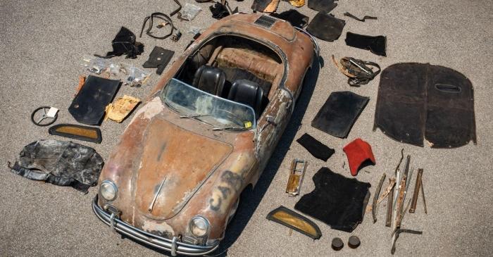Трудно поверить, но этот ржавый Porsche стоит больше нового 911