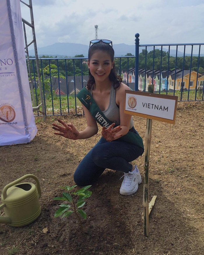 «Мисс Земля-2018»: фото победительницы из Instagram