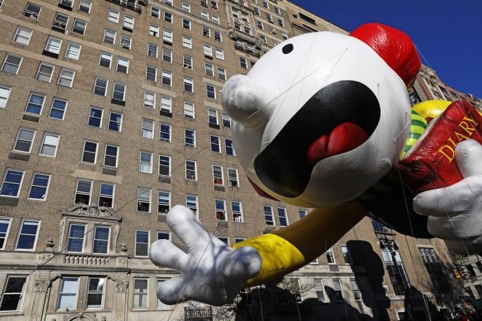 Парад Мэйси в Нью-Йорке
