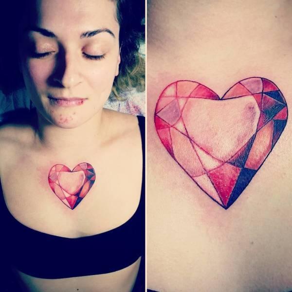 Татуировки, скрывающие изъяны