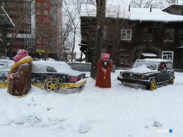 Креативное уличное искусство в Новосибирске