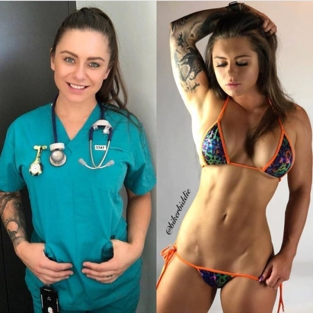 Пейдж Миллс - австралийская медсестра, которая не стесняется своего тела