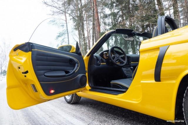 Необычный Запорожец, построенный на базе спортивного Porsche