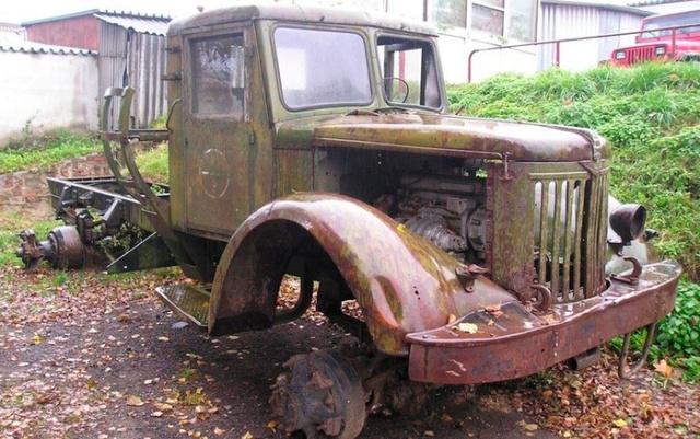 Перевоплощение старого МАЗ-502 в хот-род