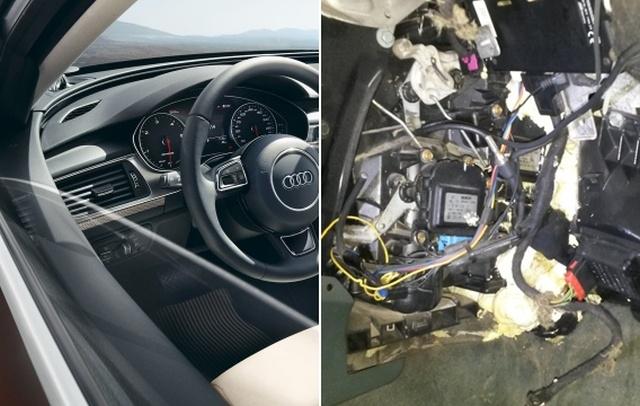 """""""Многострадальная"""" Audi Allroad приехала на сервис"""