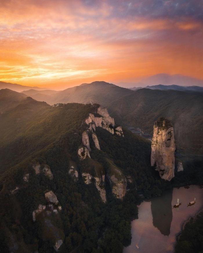 Азия сверху: потрясающие аэрофотоснимки Йонаса Хорнехей