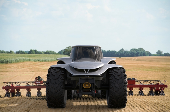 Самоходный трактор, который может стать будущим сельского хозяйства