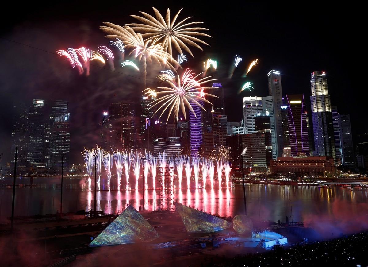 Новый год в разных странах картинка