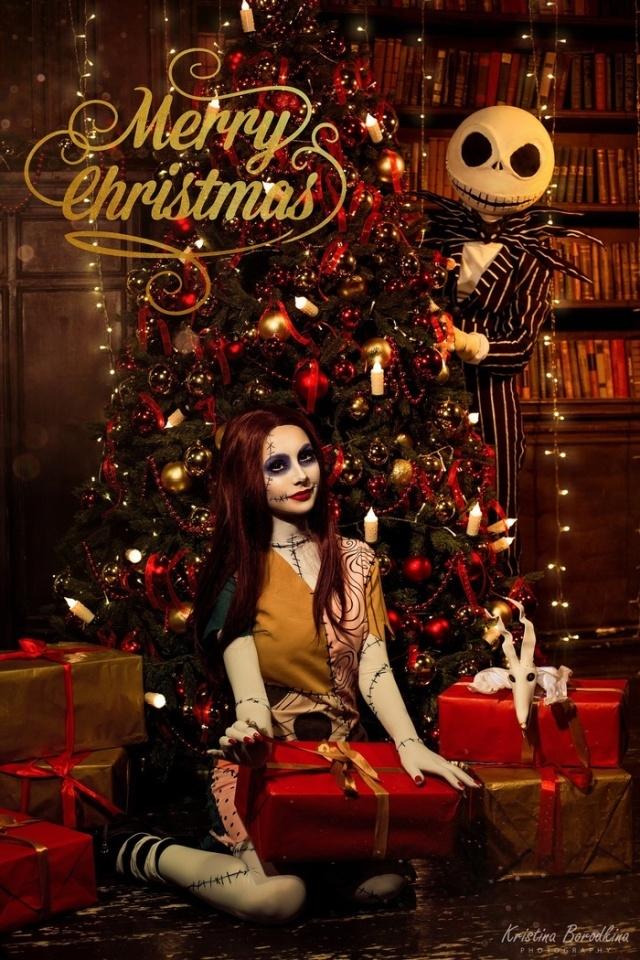 """Косплей в стиле """"Кошмар перед Рождеством"""""""