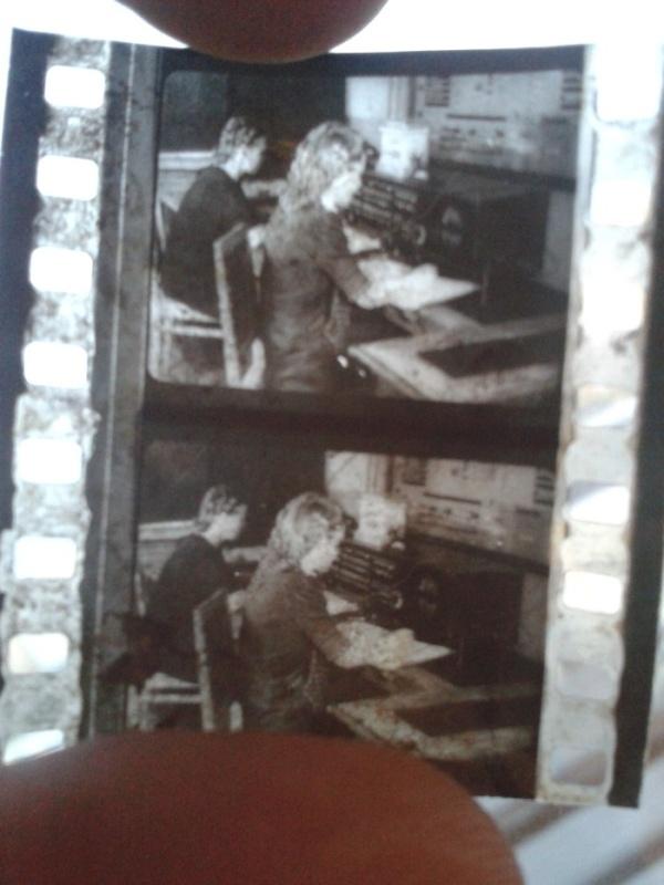 Кинохроника с авиационного завода в Саратове