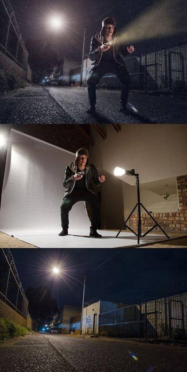 Как делаются постановочные фотографии