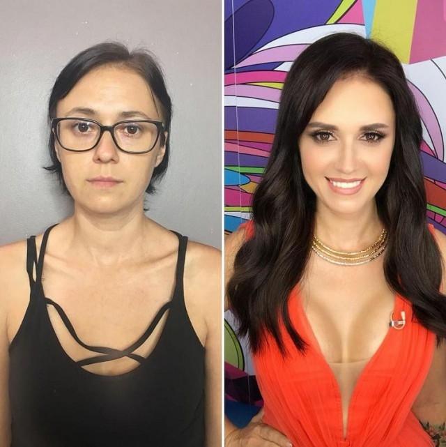 Сила современного макияжа