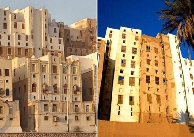 Глиняные небоскребы Шибама