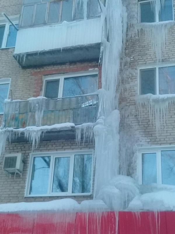 Саратов превратился в город сосулек