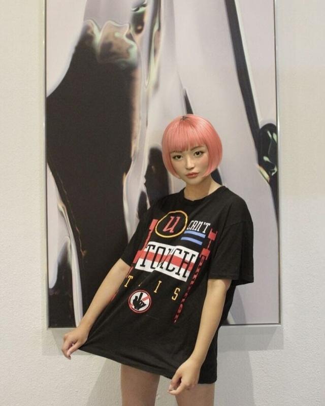 Необычная японская модель Имма покоряет социальные сети