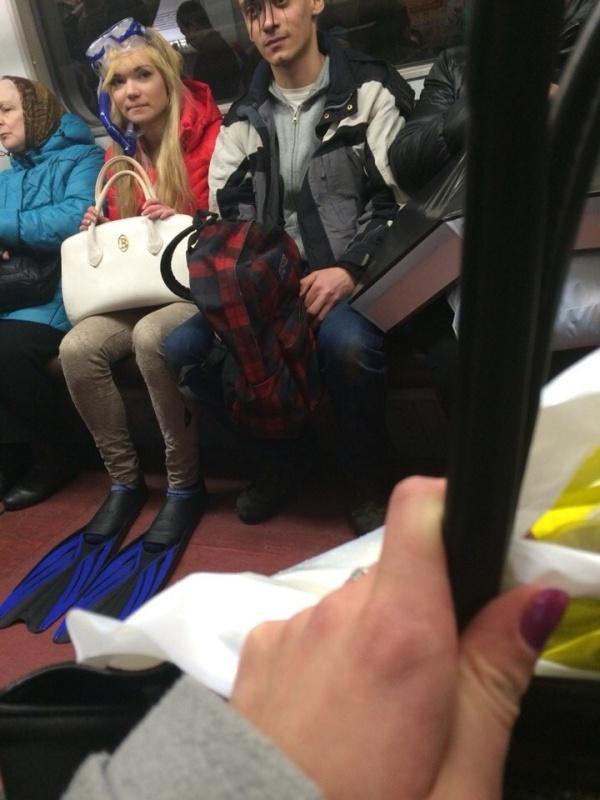 Модники и модницы российского метрополитена
