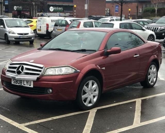 Житель Британии решил выдать свой автомобиль за Mercedes-Benz