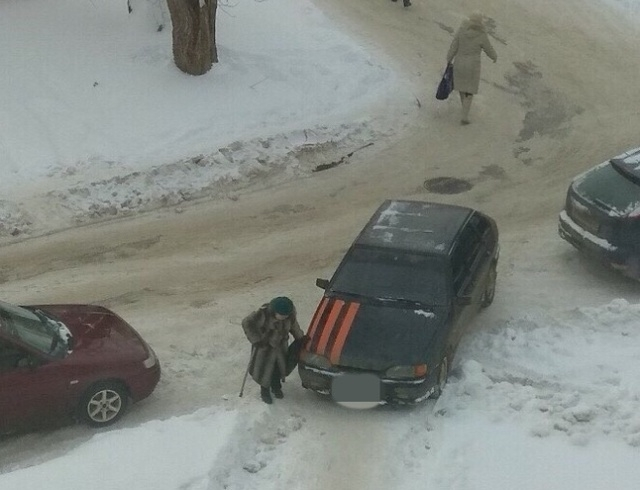 Когда водителя абсолютно не волнуют проблемы пешеходов