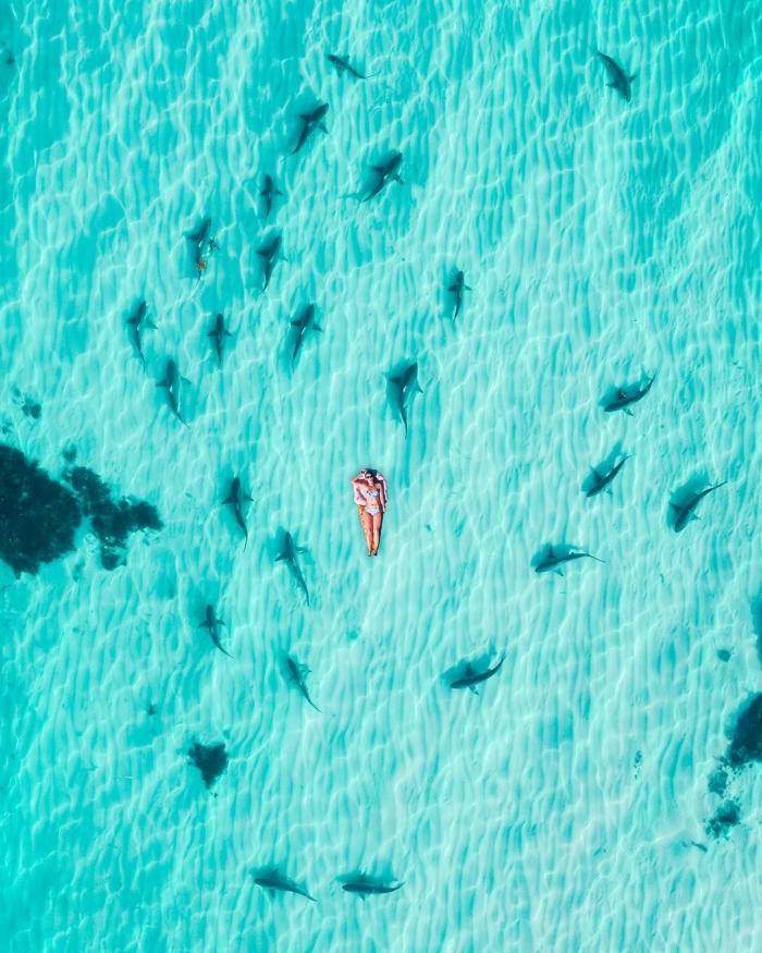 Западная Австралия сверху: аэрофотоснимки Митчелла Кларка