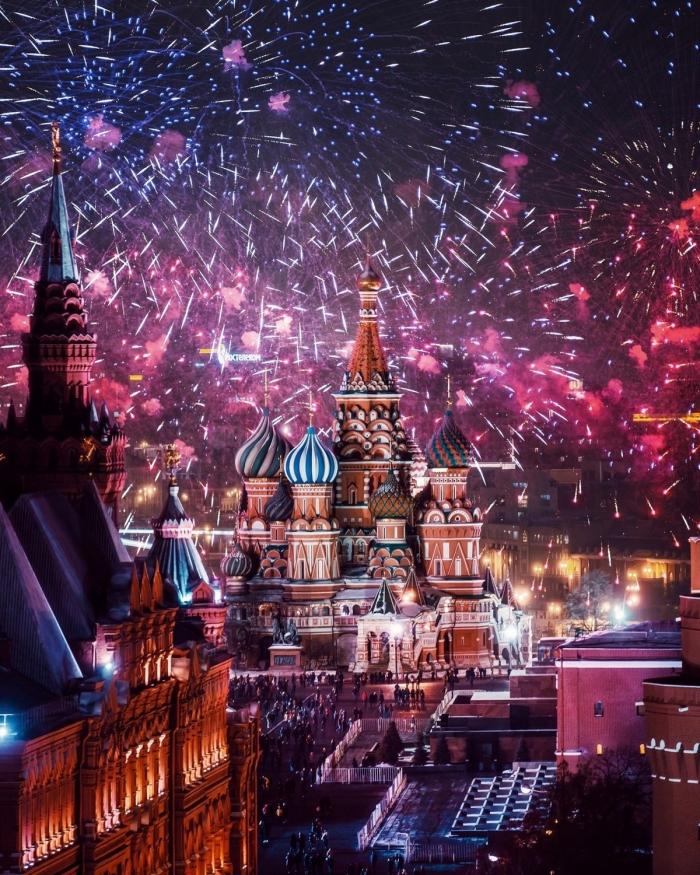 Новогодняя Москва на фотографиях Кристины Макеевой