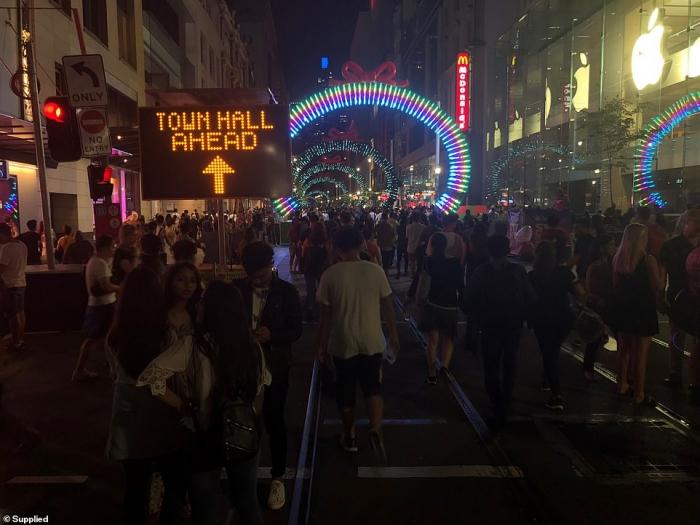 Новогодние улицы Австралии