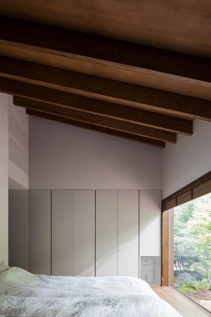 Органический дом для загородного отдыха в Японии