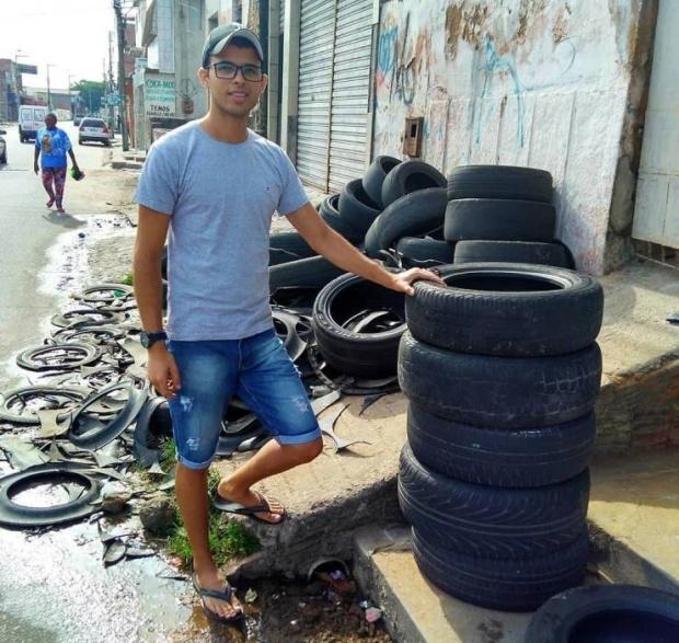 Необычный бизнес с использованием старых автомобильных шин