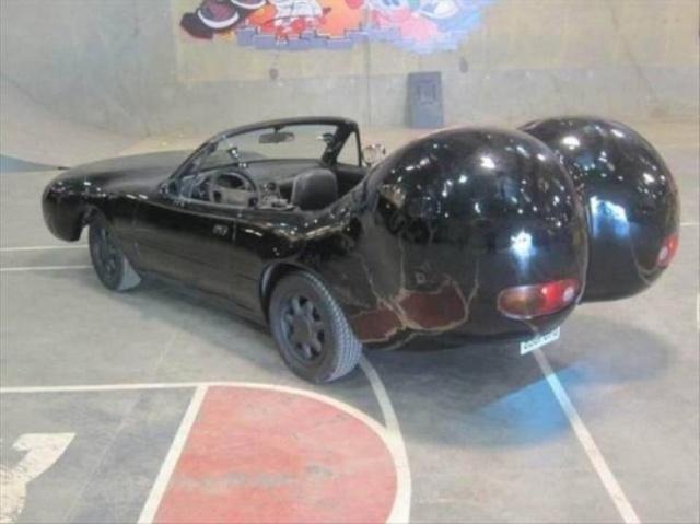 Странные автомобили и необычный тюнинг