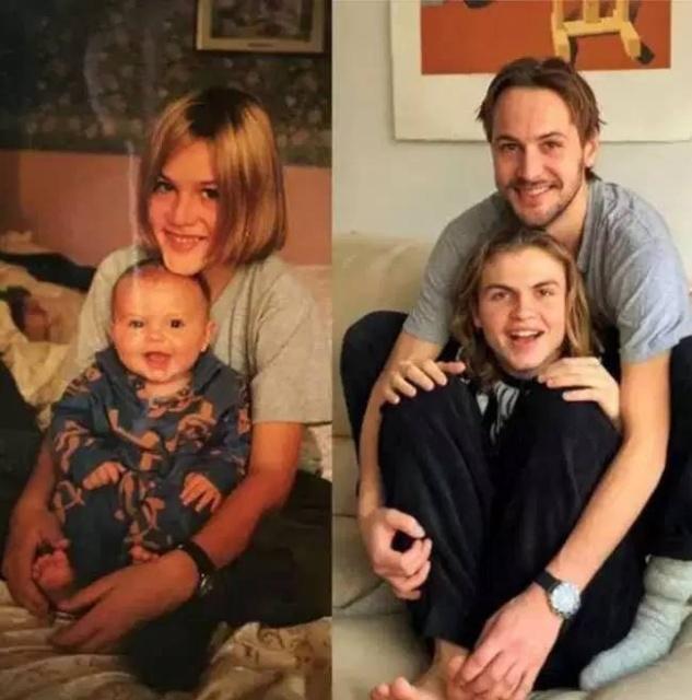 Люди воссоздают свои старые фотографии