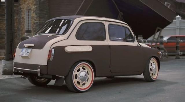 Уникальный ЗАЗ-965A на шасси от автомобиля Smart