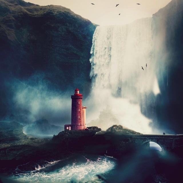 Креативные фотоманипуляции от Серхио де Ламо