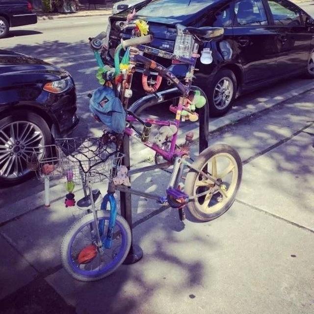 Странные и необычные велосипеды