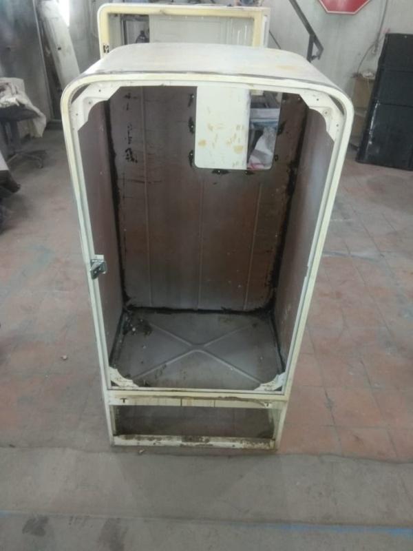"""Восстановление старого холодильника """"Зис Москва"""" 1952 года"""