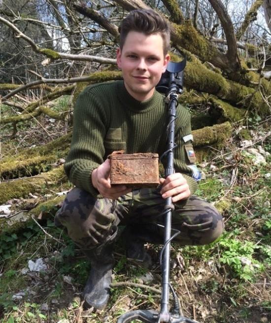 Настоящий клад, найденный в лесу